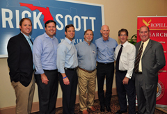 Gov. Rick Scott Visits Ropella