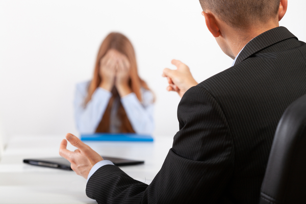 Angry Boss After Hiring Mistake