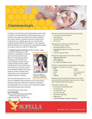 Cosmeceuticals Recruiter   Ropella