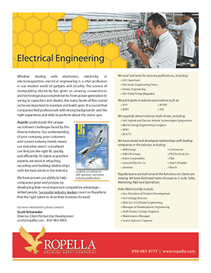 Electrical Engineering Recruiter | Ropella