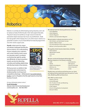 Robotics Recruiter Ropella