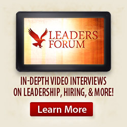 Watch Leader Forum videos!